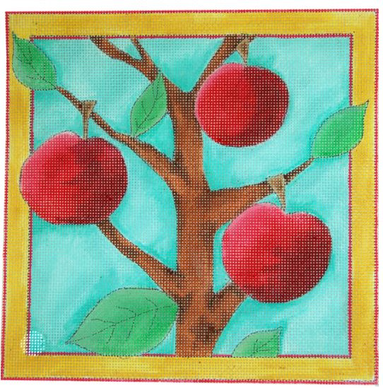 click here to view larger image of Apple Tree, The (hand painted canvases)