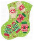 click here to view larger image of Knitt'n Mittens (hand painted canvases)