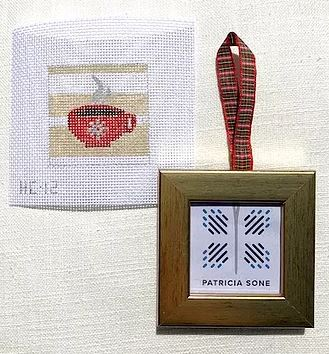 Coffee w/Ornament Frame - click here for more details