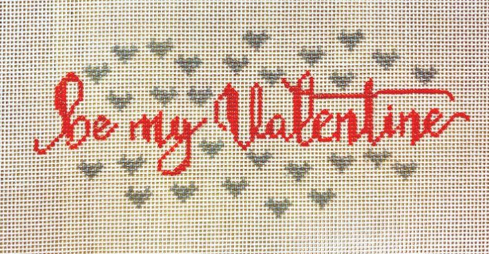 click here to view larger image of Be My Valentine (hand painted canvases)