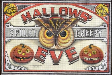 click here to view larger image of Hallows Eve (hand painted canvases)