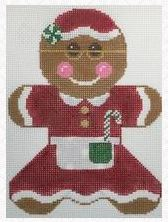 click here to view larger image of Gingerbread Mrs Claus (hand painted canvases)