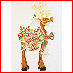 click here to view larger image of Reindeer - RR-04 (hand painted canvases)