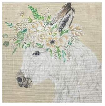 click here to view larger image of Hope the Donkey (hand painted canvases)