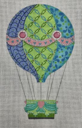 click here to view larger image of Serenity Balloon (hand painted canvases)