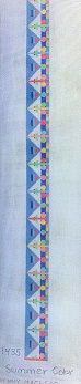 click here to view larger image of Summer Color Belt (hand painted canvases)