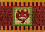 click here to view larger image of Devil Cracker (hand painted canvases)