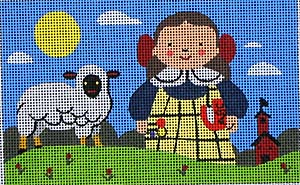 click here to view larger image of Mary Had a Little Lamb (hand painted canvases)