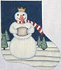 click here to view larger image of Snow King (hand painted canvases)