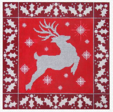 click here to view larger image of Red Reindeer (hand painted canvases)