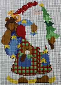 Patchwork Santa   - click here for more details