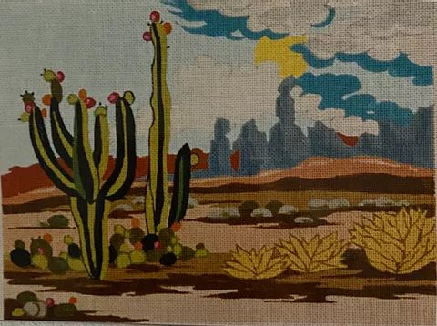 click here to view larger image of Arizona Desert (hand painted canvases)