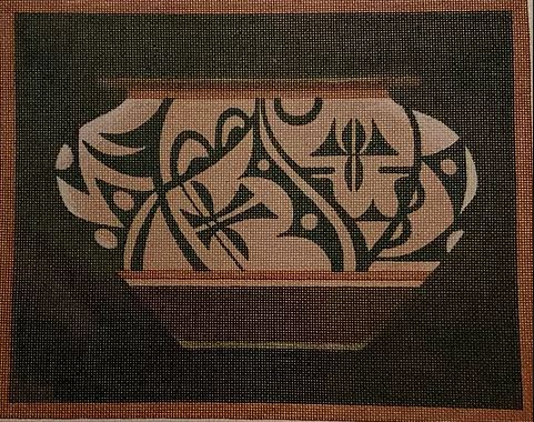 click here to view larger image of Acoma Vessel (hand painted canvases)