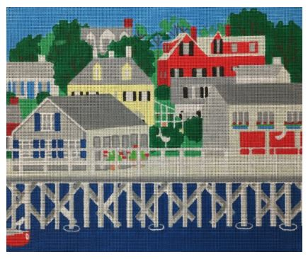 click here to view larger image of Boothbay Harbor (hand painted canvases)