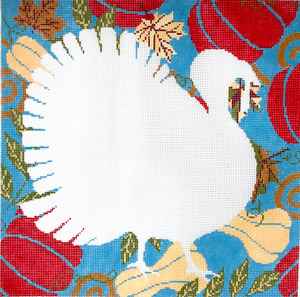 click here to view larger image of Silhouette Turkey (hand painted canvases)