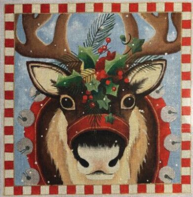 Reindeer Portrait - click here for more details