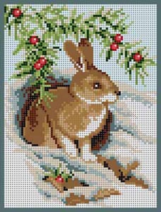 Bunny in the Snow - click here for more details