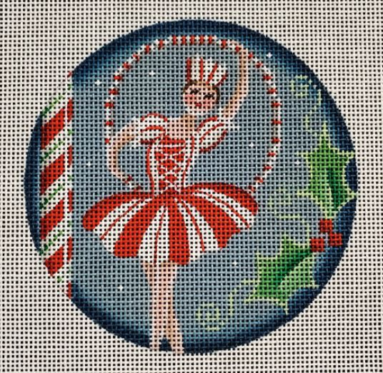 click here to view larger image of Candy Cane Dancer (hand painted canvases)