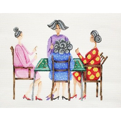 click here to view larger image of 4 for Mahjong (hand painted canvases)