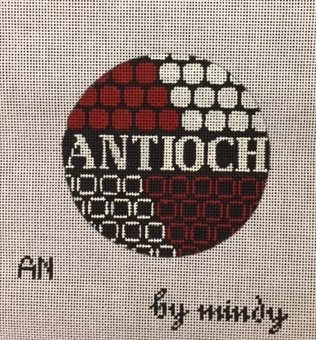 click here to view larger image of Antioch Ornament (hand painted canvases)