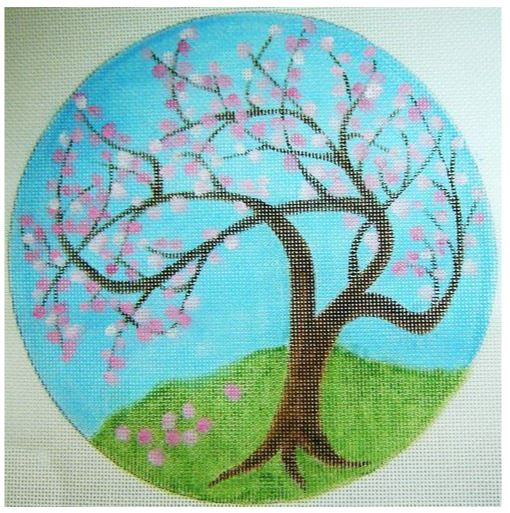 click here to view larger image of Apple Tree in Bloom (hand painted canvases)