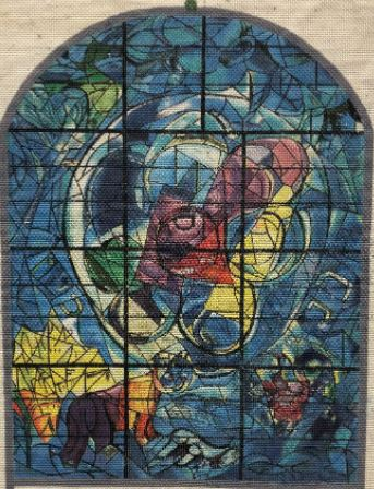 click here to view larger image of Benjamin Chagall Window (hand painted canvases)