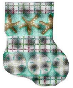 Starfish/Sand Dollar Mini Sock - click here for more details
