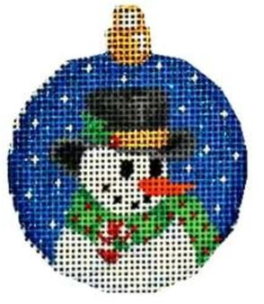 Top Hat Snowman Mimi Ball - click here for more details