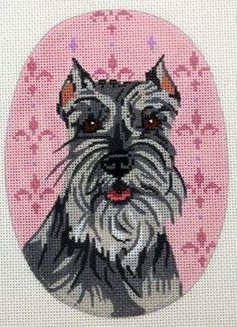 Schnauzer Oval - click here for more details