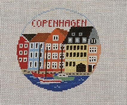 click here to view larger image of Copenhagen  (hand painted canvases)