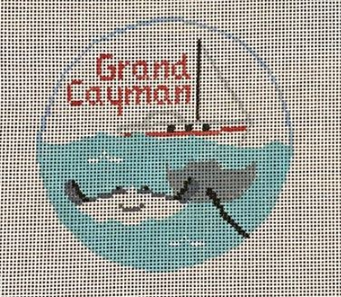 click here to view larger image of Grand Cayman (hand painted canvases)