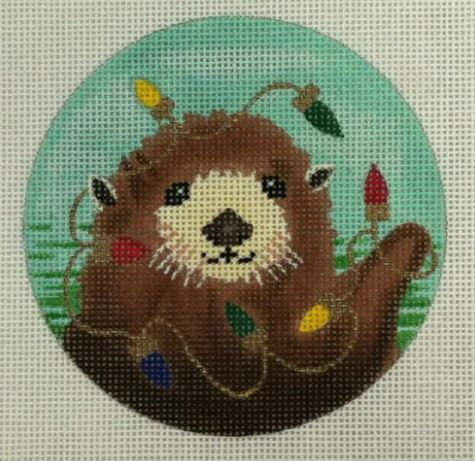 click here to view larger image of Sea Otter (hand painted canvases)