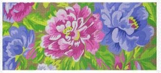 click here to view larger image of French Bright Lumbar  (hand painted canvases)