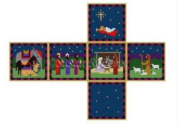 Cube Ornament - Nativity - click here for more details