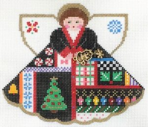 Ugly Christmas Sweater - click here for more details about this hand painted canvases