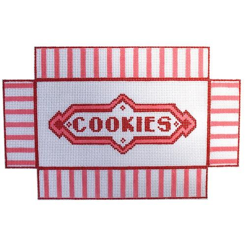click here to view larger image of Cookies Box (hand painted canvases)