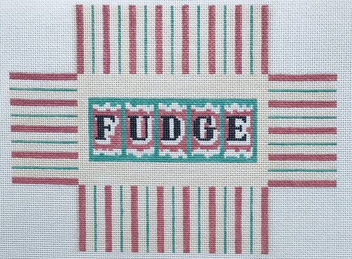click here to view larger image of Fudge Box (hand painted canvases)