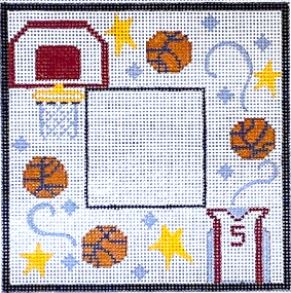 click here to view larger image of Basketball Frame (hand painted canvases)