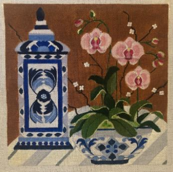 click here to view larger image of Blue/White Porcelain 2 (hand painted canvases)