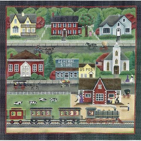Train Station Village - 18ct - click here for more details