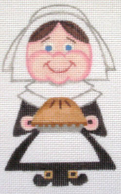 click here to view larger image of Female Pilgrim (hand painted canvases)