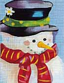 click here to view larger image of Mr. Snow (hand painted canvases)