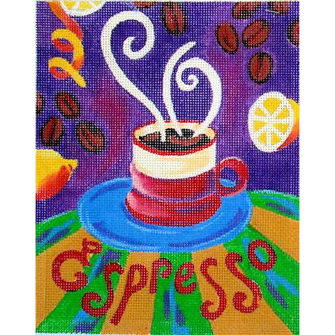 click here to view larger image of Espresso (hand painted canvases)