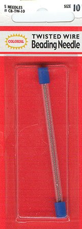 click here to view larger image of Beading Needle Twisted Wire Size 10 (accessories)
