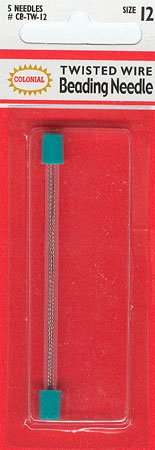 click here to view larger image of Beading Needle Twisted Wire Size 12 (accessories)