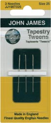click here to view larger image of John James Tapestry Tween Hand Needles (accessories)