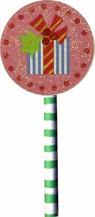 click here to view larger image of Gift Lollipop (hand painted canvases)