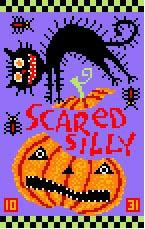 click here to view larger image of Scared Silly (hand painted canvases)