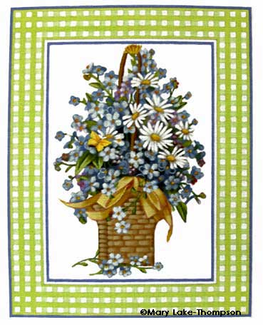 click here to view larger image of Bordered Forget-me-nots (None Selected)