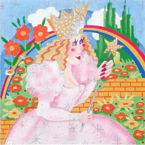 click here to view larger image of Glinda - Wild Women (hand painted canvases)